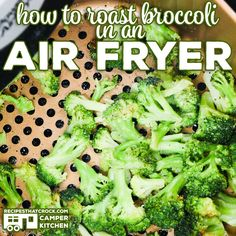 Are you looking for an easy Air Fryer Broccoli recipe? We love this great low ca… Are you looking for an easy Air Fryer Broccoli recipe? We love this great low carb air fryer recipe. How to roast broccoli in an air fryer. Air Fryer Oven Recipes, Air Frier Recipes, Air Fryer Dinner Recipes, Instant Pot, Salat Wraps, Cooks Air Fryer, Air Fried Food, Air Fryer Healthy, Healthy Food