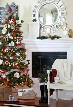 How to create a classic, old-fashioned tree.