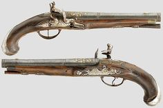 German Flintlock Pistols