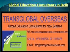 Global education consultants in delhi,,, overseas education  Focus Abroad with low upkeep work rights, honest to goodness courses air through and cools and Australia being a neigh weakening country, New Zealand has been seen as the most invigorated study destination for understudies expected that would get think abroad. Best Abroad Consultants in Delhi have been got not providing true blue Information to the understudies passing by them for affecting and this is the reason; New Zealand visa…