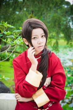 Hetalia Cosplay- Asia5: Morning~ by Rii-ki-AruxKol.deviantart.com on @deviantART - Yao cosplay