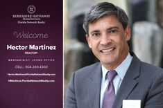 BERKSHIRE HATHAWAY HOMESERVICES FLORIDA NETWORK REALTY WELCOMES HECTOR MARTINEZ
