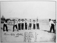 Baseball  dates back early in Scioto County history. The first record of a game being played was in 1866. The two teams were the Sciotos and the River Cities. (or River City B.B.C.). The River City B.B.C. played its games at Waller Woods, an area just north of 2nd Street and east of Waller Street.