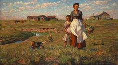 The Prairie Is My Garden Artwork by Harvey T. Dunn