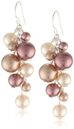 Dusty Rose, Peach and Mauve Simulated Pearl Cluster Drop Earrings Amazon Curated Collection, http://www.amazon.com/dp/B0058H04JW/ref=cm_sw_r_pi_dp_BNqprb1H7JQMZ