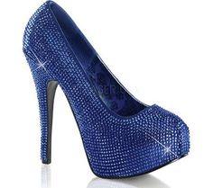 Bordello Women's Teeze 06R, Size: 9 M, Blue