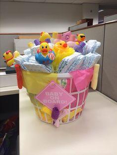 Baby shower gift Baby Bath Basket! Infant tub filled