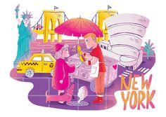 VICTION:ARY / NEW YORK CITY GUIDE on Behance