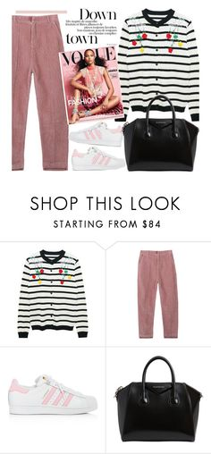 """""""Spring attitude"""" by missiny on Polyvore featuring adidas and Givenchy"""