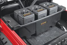 - Attaches to XP corner factory roll cage. - Fits Polaris 14'-16' RZR XP 1000, RZR XP4 1000 - Generous zippered storage compartment - Top quality UV treated, water resistant Tri-Max® Ballistic Nylon w