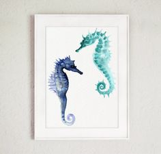 Hey, I found this really awesome Etsy listing at https://www.etsy.com/listing/197248171/seahorses-fine-art-giclee-print-seahorse