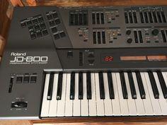 MATRIXSYNTH: Roland JD-800 Programmable Synthesizer SN ZC78329