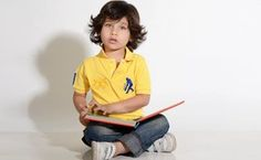 The Little Gentleman:  Sher Singh Cricket Polos - love the hair