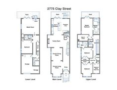 Last sold for $2.7M in December 2012 as a 3-bed, 3-bath, this Pacific Heights...