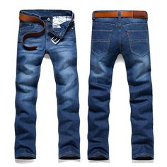 Slim Fit Skinny Casual Cotton Jeans Denim Pants //Price: $40.46 & FREE Shipping //     #shop
