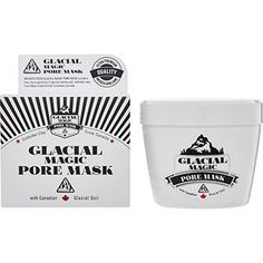 Glacial Magic Pore Mask Pore Mask, Tk Maxx, Finding Yourself, Magic, Makeup, Make Up, Beauty Makeup, Bronzer Makeup