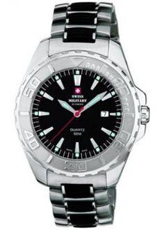 Наручные часы Swiss Military 20014ST-1MBK