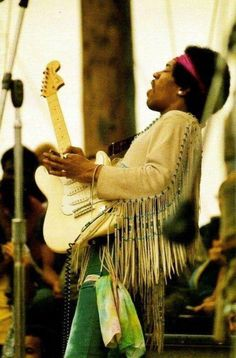 Jimi Hendrix live at Woodstock 1969. I can't stop listening to him lately