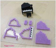 Resultado de imagen para hama beads 3d cat