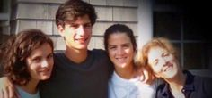 Caroline & Her Children - Rose, Jack, & Tatiana Schlossberg
