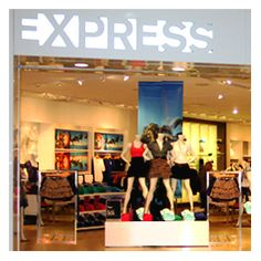 Express. I love their clothes. I find a lot of sparkly stuff in there.