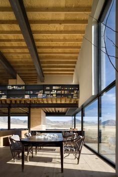 Outpost by Olson Kundig Architects.  Built in the high desert landscape of Idaho ... heavenly artists' space