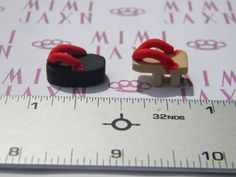 10pcs Polymer Clay Miniature Traditional Japanese Sandals $5.00