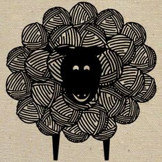 This sheep speaks to me because of its playful quality. My drawing skills are not that great so finding images that convey a message in a simplistic way make art relatable to me.