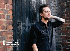 Brendon Urie striking a pose in our annual poster special. (AP 318)