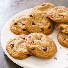 America's Test Kitchen - Perfect Chocolate Chip Cookies - worth all the work. Crisp edges and a chewy center. These folks know how to do it right