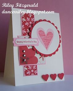 Stampin' with Riley: Kissing Hearts