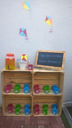 Estação bola de sabão para desejar as boas-vindas. Sucesso garantido. Decoração Ecoparty Recife.