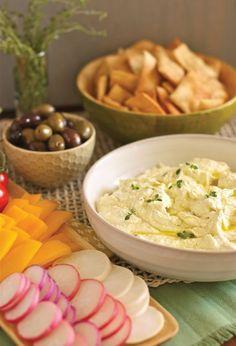 Feta and Lemon Dip.  Appetizers - Dips, Feta