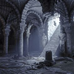 My Fantasy World, Fantasy City, Fantasy Castle, Fantasy Places, Medieval Fantasy, Dark Fantasy, Fantasy Art Landscapes, Fantasy Landscape, Fantasy Concept Art