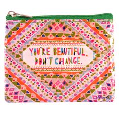You're Beautiful Coin Purse / Nate Duval for Blue Q
