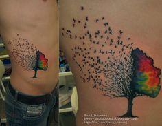 birds tree by janashantal.deviantart.com on @deviantART