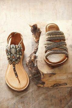 Boho Chic: Shoes (die linkerkantste een is my gunsteling)