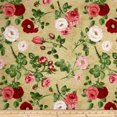 Bouquet Moderne Tossed Roses Cream/Pink