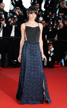 As 'Blue Is The Warmest Colour' picks up the coveted Palme D'or, French actresses Léa Seydoux and Adèle Exarchopoulos lit up the red carpet at the Cannes closing ceremony. Plus, all the best looks from the festival. Audrey Tautou, Dita Von Teese, Jessica Chastain, Nicole Kidman, Celebrity Gowns, Celebrity Style, Celebrity Gossip, Cleopatra, Red Carpet Dresses