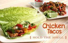 paleo chicken tacos