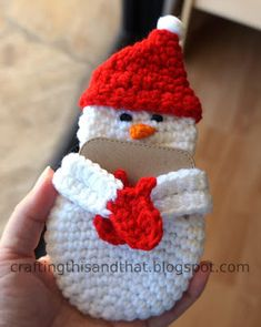 I was planning to post this last night but I was just too tired to write or think of complete sentences. It's been a busy week with th. Crochet Christmas Gifts, Holiday Crochet, Homemade Christmas Gifts, Crochet Gifts, Christmas Crafts, Christmas Ideas, Xmas, Christmas Ornaments, Doily Patterns