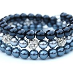 Image result for pearl memory wire bracelet