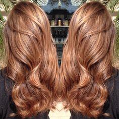cool Роскошный медовый цвет волос (50 фото) — Как подобрать краску и оттенки Читай больше http://avrorra.com/medovyj-cvet-volos-kraska-foto/