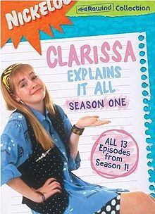 Clarissa Explains It All. I remember the show AND had the game! Remember her neighbor that would just show up in her room by climbing the ladder?!?