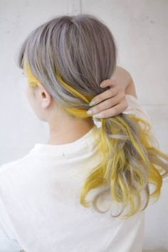 Fresh Mesmerizing Ash Brown to Warm Yellow Hair Color Ideas Worth Checking Out Medium Hair Styles, Natural Hair Styles, Short Hair Styles, Hair Medium, Yellow Hair Color, Grey Yellow, Yellow Nails, Neon Yellow, Balayage Color