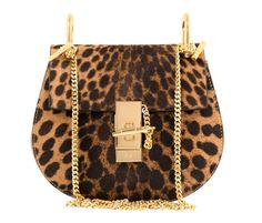 Our bag of the week is this little leopard number from Chloe.