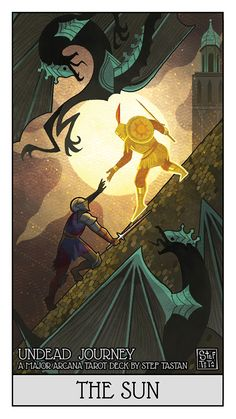Tagged with art, gaming, video games, dark souls, illustration; Shared by StefTastan. UNDEAD JOURNEY - A Major Arcana Deck by Stef Tastan Dark Souls 3, Arte Dark Souls, Dark Souls Solaire, Ghibli, Ornstein Dark Souls, Soul Saga, The Sun Tarot, Praise The Sun, Tarot Major Arcana