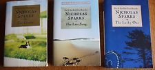 Lot of 3 Nicholas Sparks Paperback Books