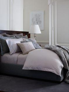 Grey Sateen Collection - Ralph Lauren Home Bedding