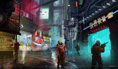 Cyberpunk artworks gallery - Page 41